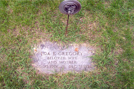 SMITH GREGORY, IDA E. - Polk County, Iowa | IDA E. SMITH GREGORY
