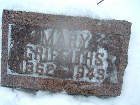GRIFFITHS, MARY - Polk County, Iowa | MARY GRIFFITHS