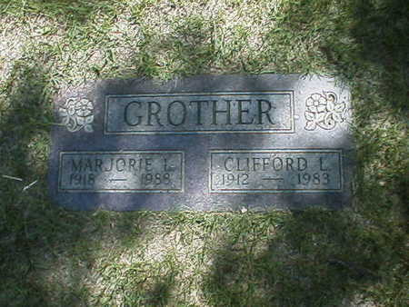 GROTHER, CLIFFORD - Polk County, Iowa | CLIFFORD GROTHER