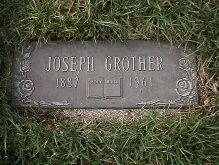 GROTHER, JOSEPH - Polk County, Iowa | JOSEPH GROTHER