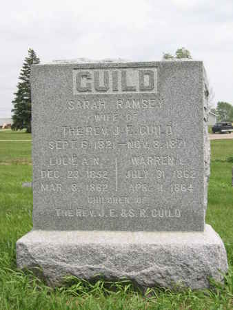 GUILD, THE REV. J. E. - Polk County, Iowa | THE REV. J. E. GUILD