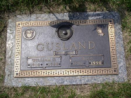 GUSLAND, JULIA - Polk County, Iowa | JULIA GUSLAND