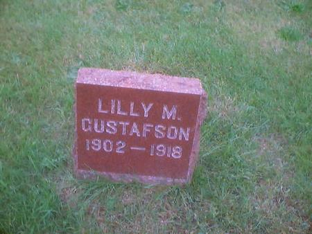 GUSTAFSON, LILLY M. - Polk County, Iowa | LILLY M. GUSTAFSON