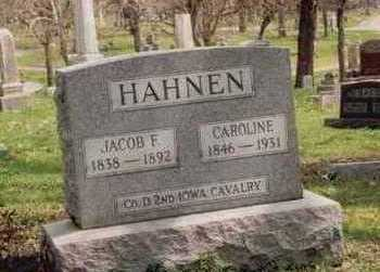 HAHNEN, JACOB F. - Polk County, Iowa | JACOB F. HAHNEN