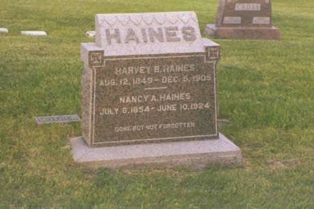 HAINES, HARVEY B. & NANCY A. - Polk County, Iowa | HARVEY B. & NANCY A. HAINES