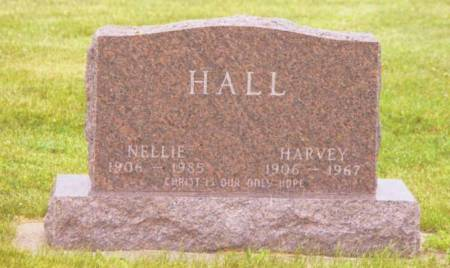 HALL, HARVEY & NELLIE - Polk County, Iowa | HARVEY & NELLIE HALL