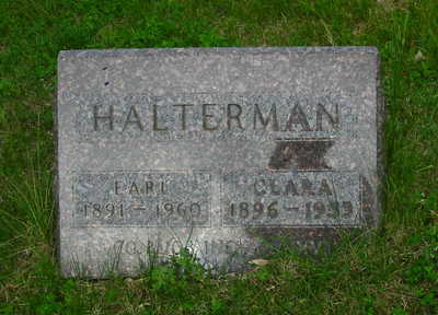 HALTERMAN, CLARA - Polk County, Iowa | CLARA HALTERMAN