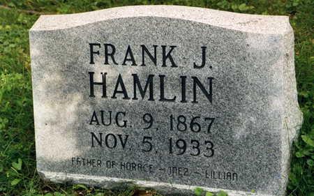 HAMLIN, FRANK J. - Polk County, Iowa | FRANK J. HAMLIN
