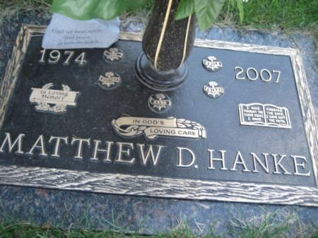 HANKE, MATTHEW D - Polk County, Iowa   MATTHEW D HANKE
