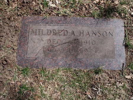 HANSON, MILDRED - Polk County, Iowa | MILDRED HANSON