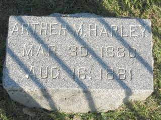 HARLEY, ARTHER - Polk County, Iowa   ARTHER HARLEY