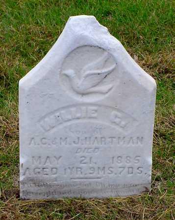HARTMAN, WILLIE G. - Polk County, Iowa | WILLIE G. HARTMAN