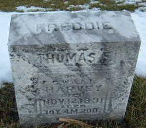 HARVEY, FREDDIE THOMAS - Polk County, Iowa   FREDDIE THOMAS HARVEY