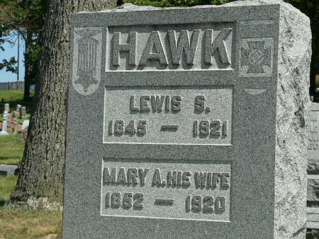 HAWK, LEWIS S. - Polk County, Iowa | LEWIS S. HAWK