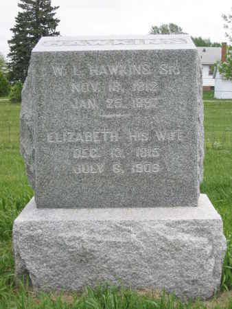 HAWKINS, ELIZABETH - Polk County, Iowa | ELIZABETH HAWKINS