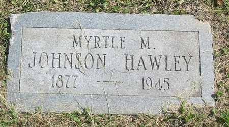 JOHNSON HAWLEY, MYRTLE M - Polk County, Iowa | MYRTLE M JOHNSON HAWLEY