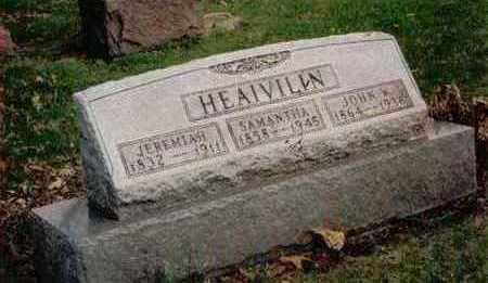 HEAIVILIN, JOHN W. - Polk County, Iowa | JOHN W. HEAIVILIN