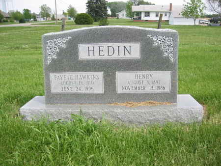 HAWKINS HEDIN, FAYE E. - Polk County, Iowa | FAYE E. HAWKINS HEDIN