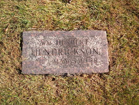 HENDRICKSON, WILLIAM HERBERT - Polk County, Iowa | WILLIAM HERBERT HENDRICKSON