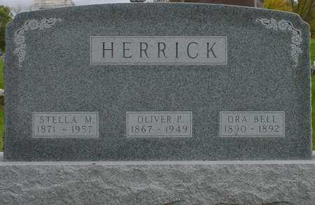 HERRICK, ORA BELL - Polk County, Iowa | ORA BELL HERRICK