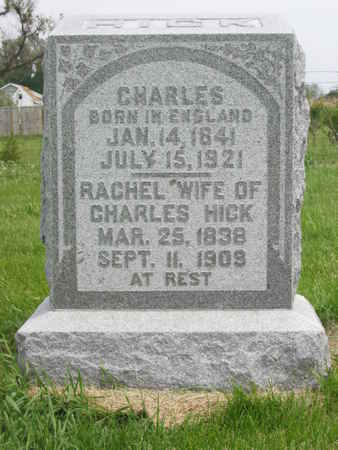 HICK, RACHEL - Polk County, Iowa | RACHEL HICK