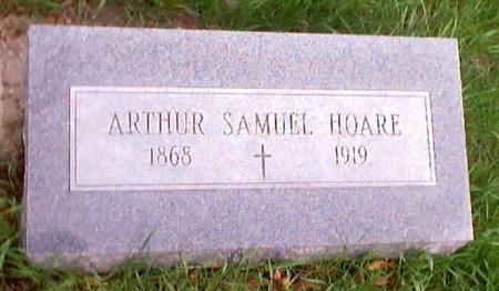 HOARE, ARTHUR SAMUEL - Polk County, Iowa | ARTHUR SAMUEL HOARE