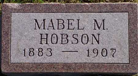 HOBSON, MABEL M. - Polk County, Iowa   MABEL M. HOBSON