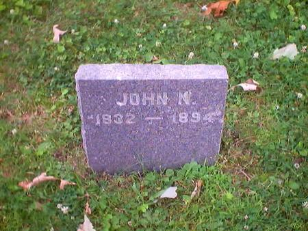 HOHBERGER, JOHN N. - Polk County, Iowa | JOHN N. HOHBERGER
