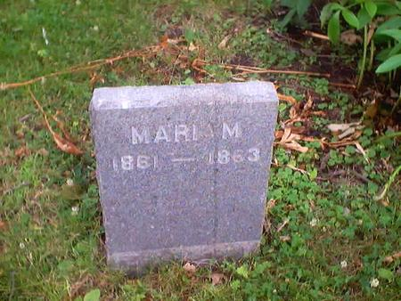 HOHBERGER, MARIA M. - Polk County, Iowa | MARIA M. HOHBERGER