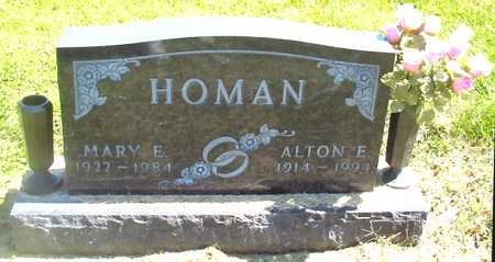HOMAN, ALTON E. - Polk County, Iowa | ALTON E. HOMAN