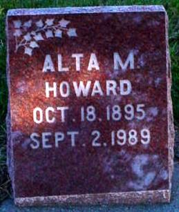 HOWARD, ALTA MAY - Polk County, Iowa | ALTA MAY HOWARD