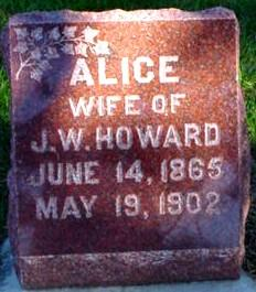 BETTS HOWARD, ALICE - Polk County, Iowa | ALICE BETTS HOWARD