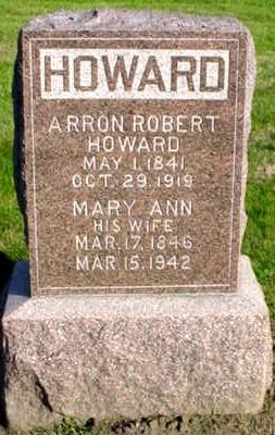 HOWARD, MARY ANN - Polk County, Iowa | MARY ANN HOWARD