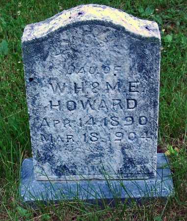 HOWARD, DAUGHTER - Polk County, Iowa   DAUGHTER HOWARD
