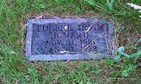 HOWARD, EUGENE IRVIN - Polk County, Iowa   EUGENE IRVIN HOWARD