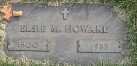 HOWARD, ELSIE M. - Polk County, Iowa | ELSIE M. HOWARD