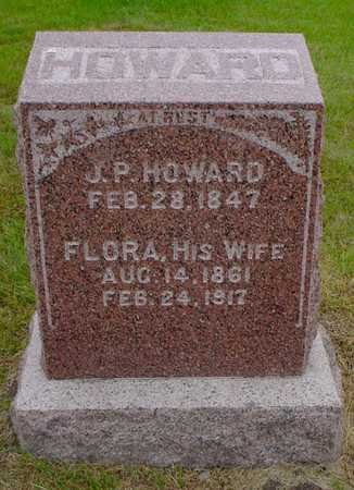 WILSON HOWARD, FLORA - Polk County, Iowa | FLORA WILSON HOWARD