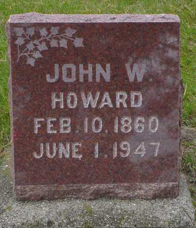 HOWARD, JOHN W. - Polk County, Iowa | JOHN W. HOWARD