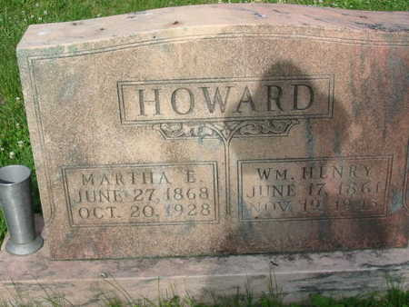 HOWARD, MARTHA E.  - Polk County, Iowa | MARTHA E.  HOWARD