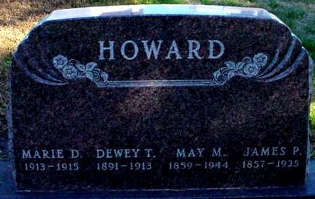 HOWARD, DEWEY T. - Polk County, Iowa | DEWEY T. HOWARD