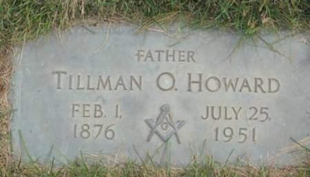 HOWARD, TILLMAN  O. - Polk County, Iowa | TILLMAN  O. HOWARD