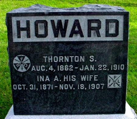 HOWARD, INA A. - Polk County, Iowa | INA A. HOWARD