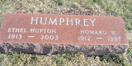 HUPTON HUMPHREY, ETHEL - Polk County, Iowa | ETHEL HUPTON HUMPHREY