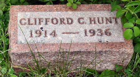 HUNT, CLIFFORD C. - Polk County, Iowa | CLIFFORD C. HUNT