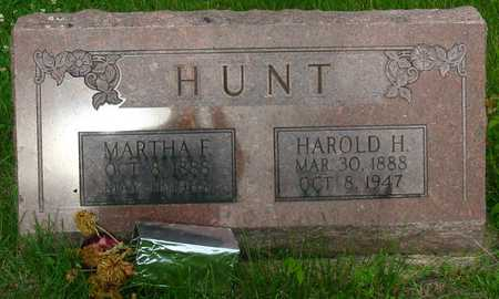 HUNT, HAROLD H. - Polk County, Iowa | HAROLD H. HUNT
