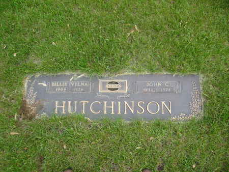 HUTCHINSON, VELNA  EMILY [ BILLIE] - Polk County, Iowa | VELNA  EMILY [ BILLIE] HUTCHINSON