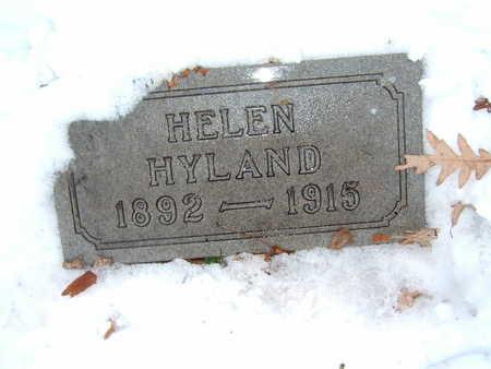 HYLAND, HELEN - Polk County, Iowa | HELEN HYLAND