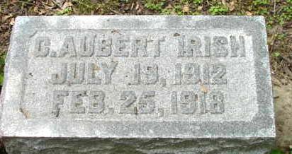 IRISH, CHARLES AUBERT - Polk County, Iowa | CHARLES AUBERT IRISH