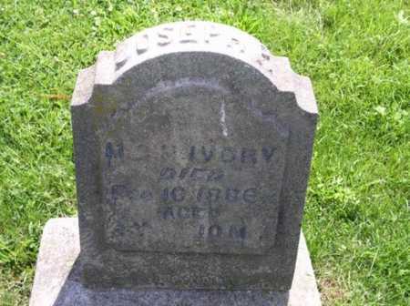 IVORY, JOSEPH - Polk County, Iowa | JOSEPH IVORY