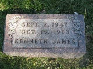 JAMES, KENNETH - Polk County, Iowa   KENNETH JAMES